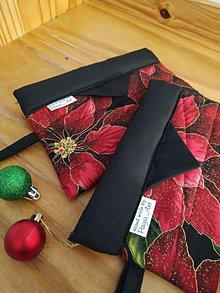 Taštičky - Taštičky s vianočnou hviezdou - 11283859_