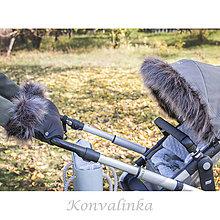 Detské súpravy - Zimné sety na kočíky - 11287906_