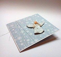 Papiernictvo - Pohľadnica ... anjelské Vianoce I - 11289346_