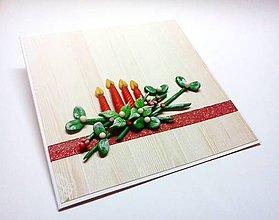 Papiernictvo - Pohľadnica ... adventný čas I - 11289466_