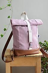 Batohy - RollTop ruksak Rolly (staroružový) - 11287695_