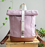 Batohy - RollTop ruksak Rolly (staroružový) - 11287696_