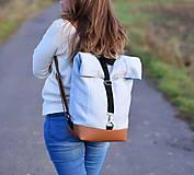 Batohy - RollTop ruksak Rolly (babyblue) - 11287811_