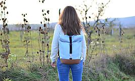Batohy - RollTop ruksak Rolly (babyblue) - 11287815_