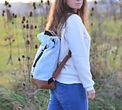 Batohy - RollTop ruksak Rolly (babyblue) - 11287817_
