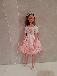 Hračky - Šaty pre bábiku Barbie - 11289296_
