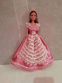 Hračky - Šaty pre bábiku Barbie - 11289312_