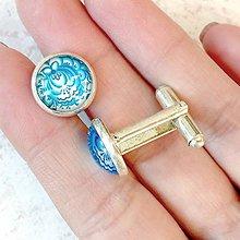 Šperky - ZĽAVA 50% Folklore Cufflinks / Folklórne manžetové gombíky - 11287374_