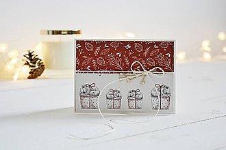 Papiernictvo - Vianočný pozdrav - spiace koaly  (malý) - 11288702_