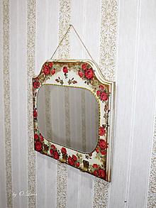 Zrkadlá - Vintage zrkadlo - 11286585_