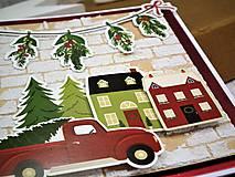 Papiernictvo - Domov na Vianoce pohľadnica - 11286965_