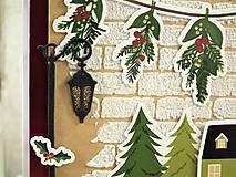Papiernictvo - Domov na Vianoce pohľadnica - 11286966_