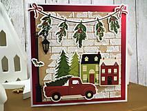 Papiernictvo - Domov na Vianoce pohľadnica - 11286967_