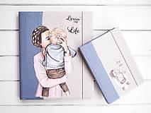 Papiernictvo - Diár  super mama - 11287836_