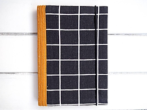 Papiernictvo - Diár minimál BLACK - 11286569_