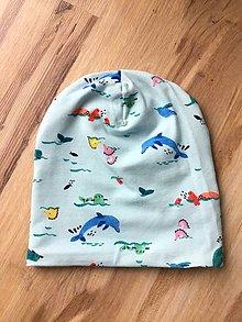 Detské čiapky - Detská čiapočka - 11286110_