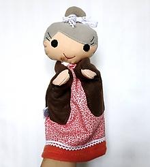 Hračky - Maňuška babička - 11288901_