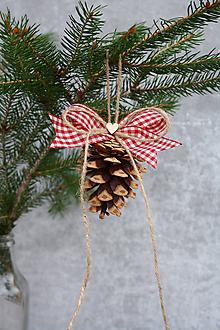 Dekorácie - Šišky na stromček - 11286314_