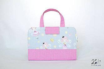 Detské tašky - Detský kufrík - pastelkovník Víly - 11288409_