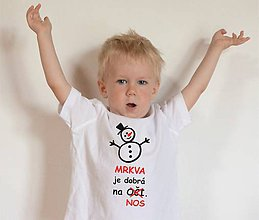 Tričká - tričko o mrkve - 11289540_