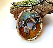 Náhrdelníky - Cínový šperk - Záhradný príbeh II. - 11287626_