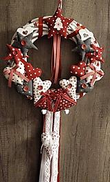 """Dekorácie - Vianočný veniec """"Rozprávkové vianoce ...."""" - 11286560_"""