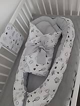 Textil - Hniezdočko a zavinovačka v Autorskom dizajne Lesná zver - 11285900_