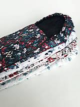 Textil - Zimný fusak s rukávnikom/vzor podľa výberu - 11286035_