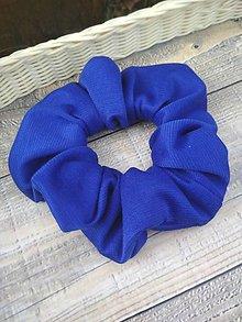 Ozdoby do vlasov - Kráľovská modrá - 11286658_