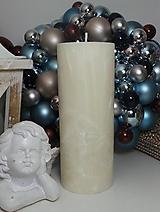 Svietidlá a sviečky - Palmová sviečka valec 200/75 mm - 11288382_