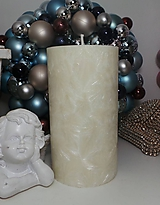 Svietidlá a sviečky - Palmová sviečka valec 18/9 cm - 11288420_