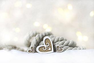 Sady šperkov - Brošňa mini Medovníček + náušnice - 11287904_