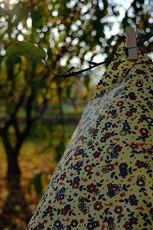 Úžitkový textil - Voskované vrecko Vreckáč 17x17cm (tousťák) (Folkie) - 11288416_