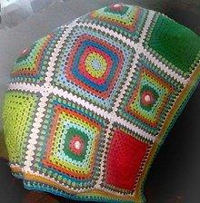 Úžitkový textil - retro deka - 11285661_