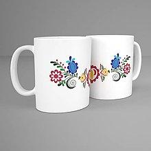 Nádoby - Hrnček - folk kvet Vajnory 1 - 11289482_