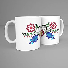 Nádoby - Hrnček - folk kvet Vajnory 2 - 11289485_