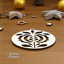Dekorácie - Ozdoba ľudový ornament 1 - 11289460_