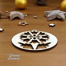 Dekorácie - Ozdoba ľudový ornament 2 - 11289474_