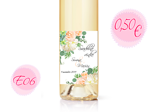 Papiernictvo - Etiketa na víno E06 - 11288260_