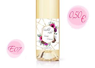 Papiernictvo - Etiketa na víno E07 - 11288285_