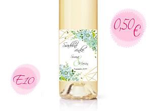Papiernictvo - Etiketa na víno E10 - 11288308_