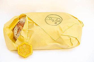 Úžitkový textil - Voskový obrúsok - Bavlna - 11286696_