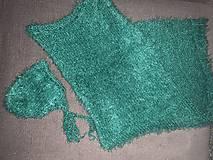 Detské súpravy - Set čiapočka deka na fotenie - 11288255_