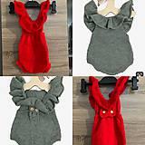 Detské oblečenie - Bodičko na fotenie - 11288265_