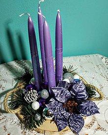 Nezaradené - Adventný svietnik - 11286079_