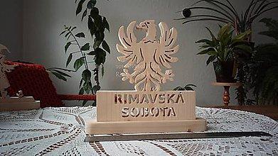 Dekorácie - Vyrezávaná dekorácia - 11286415_
