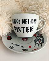 Nádoby - Happy Birthday Sister ♥ Sestrička z kramárov :) - 11288099_