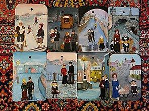 Obrazy - Maľované dosky s rôznou tematikou - 11288759_