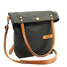 Veľké tašky - Dámská taška MARILYN GREEN HONEY - 11288195_