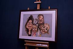 Obrazy - Karikatúra podľa fotky (Maľované na plátne (farebne, 1 tvár)) - 11289299_